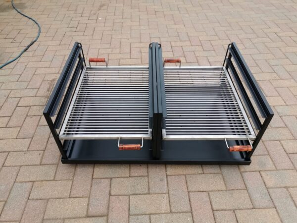 custom double slider braai1