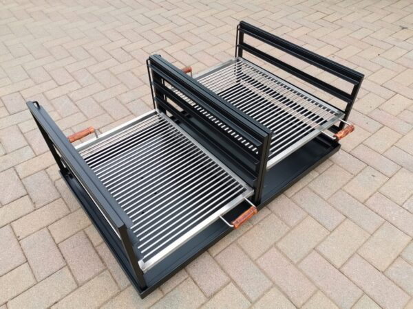 custom double slider braai3
