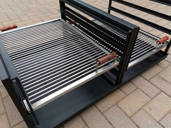 custom double slider braai4