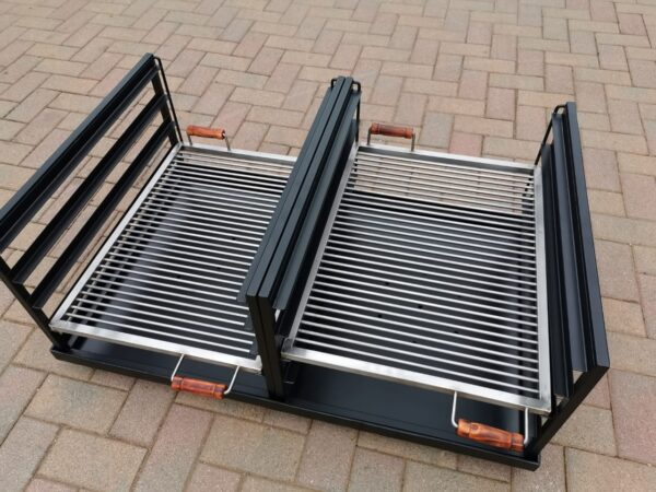 custom double slider braai6