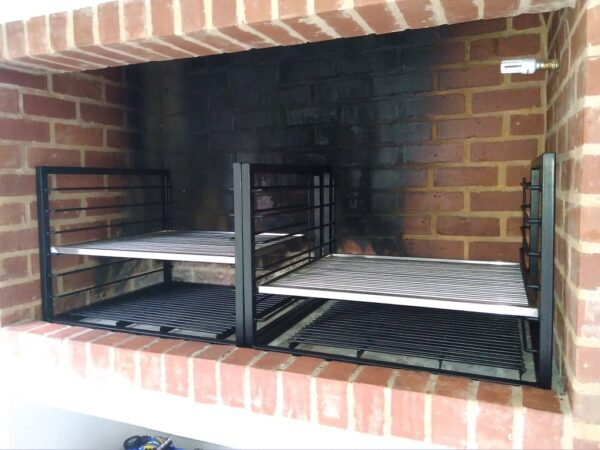 custom double slider braai7
